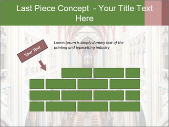 Symmetrical composition of the interior PowerPoint Template - Slide 46