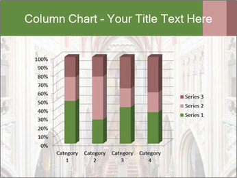 Symmetrical composition of the interior PowerPoint Template - Slide 50