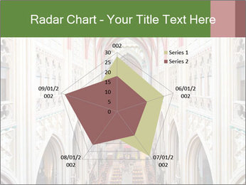 Symmetrical composition of the interior PowerPoint Template - Slide 51