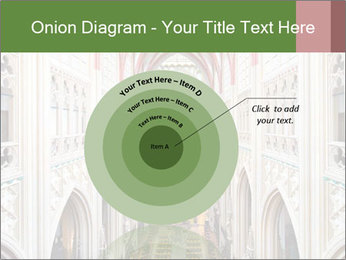 Symmetrical composition of the interior PowerPoint Template - Slide 61