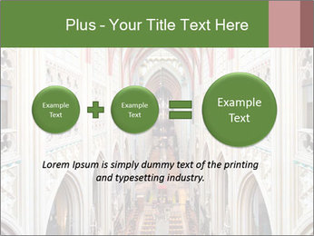 Symmetrical composition of the interior PowerPoint Template - Slide 75
