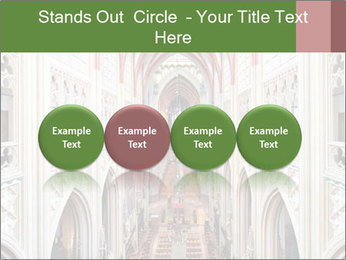 Symmetrical composition of the interior PowerPoint Template - Slide 76