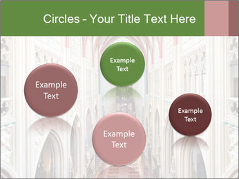 Symmetrical composition of the interior PowerPoint Template - Slide 77