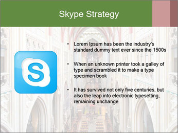 Symmetrical composition of the interior PowerPoint Template - Slide 8