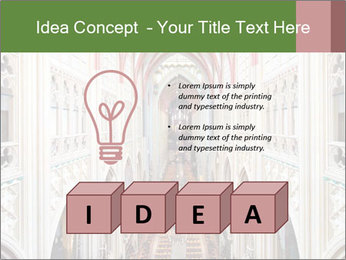Symmetrical composition of the interior PowerPoint Template - Slide 80