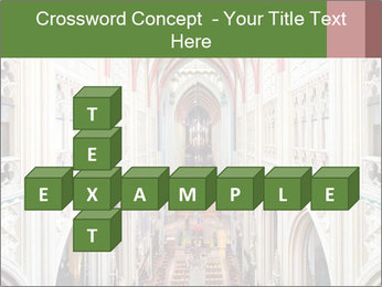 Symmetrical composition of the interior PowerPoint Template - Slide 82