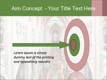 Symmetrical composition of the interior PowerPoint Template - Slide 83