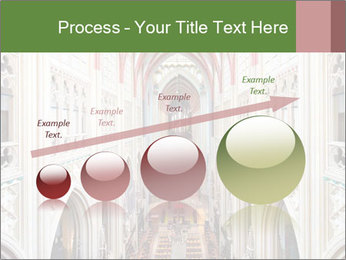 Symmetrical composition of the interior PowerPoint Template - Slide 87