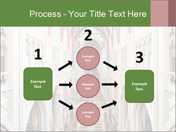 Symmetrical composition of the interior PowerPoint Template - Slide 92