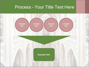Symmetrical composition of the interior PowerPoint Template - Slide 93