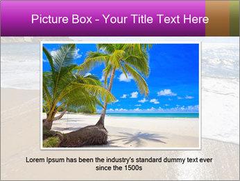 Must beautiful beach on Maltese islands PowerPoint Template - Slide 16