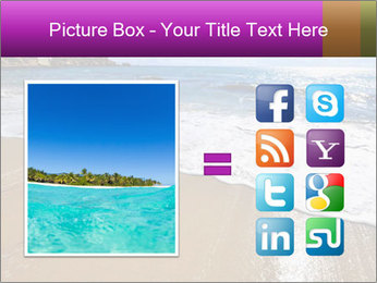 Must beautiful beach on Maltese islands PowerPoint Template - Slide 21