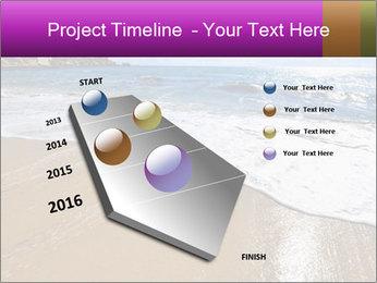 Must beautiful beach on Maltese islands PowerPoint Template - Slide 26