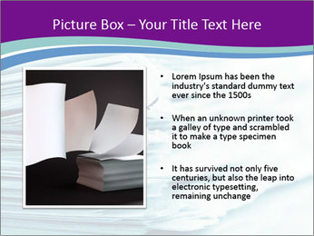 Ragged paper sheets PowerPoint Template - Slide 13