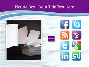 Ragged paper sheets PowerPoint Template - Slide 21
