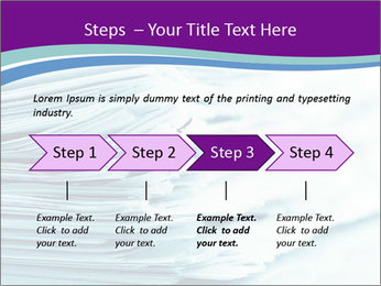Ragged paper sheets PowerPoint Template - Slide 4