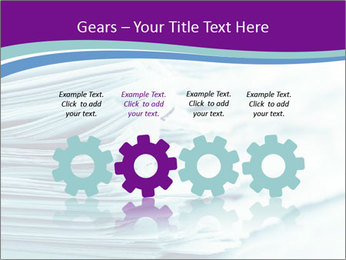 Ragged paper sheets PowerPoint Template - Slide 48