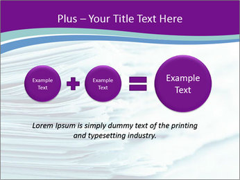 Ragged paper sheets PowerPoint Template - Slide 75