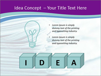 Ragged paper sheets PowerPoint Template - Slide 80