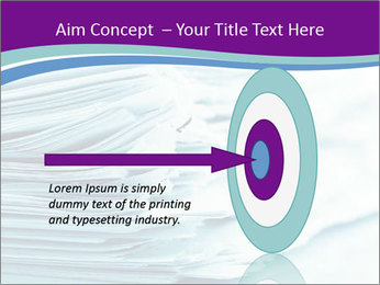 Ragged paper sheets PowerPoint Template - Slide 83