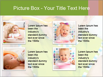 Baby feeding PowerPoint Templates - Slide 14