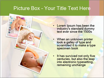 Baby feeding PowerPoint Templates - Slide 17