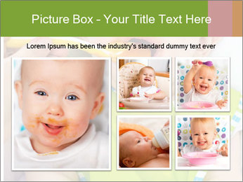 Baby feeding PowerPoint Templates - Slide 19