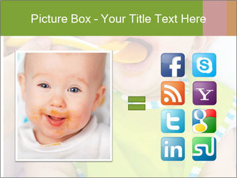Baby feeding PowerPoint Templates - Slide 21