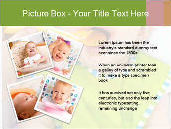 Baby feeding PowerPoint Templates - Slide 23
