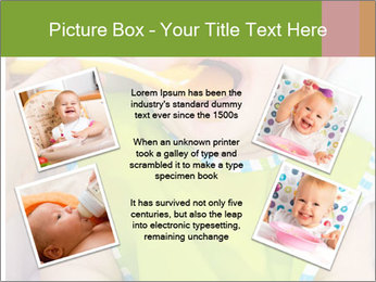 Baby feeding PowerPoint Templates - Slide 24
