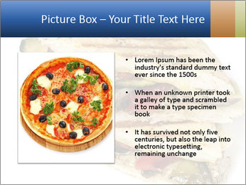 Healthy vegetable panini or focaccia PowerPoint Templates - Slide 13