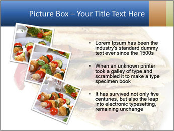 Healthy vegetable panini or focaccia PowerPoint Templates - Slide 17