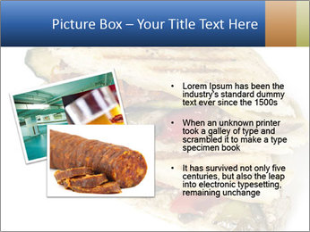 Healthy vegetable panini or focaccia PowerPoint Templates - Slide 20
