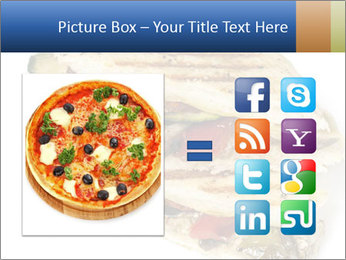 Healthy vegetable panini or focaccia PowerPoint Templates - Slide 21