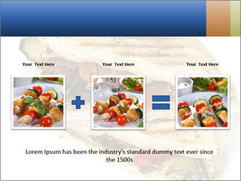 Healthy vegetable panini or focaccia PowerPoint Templates - Slide 22