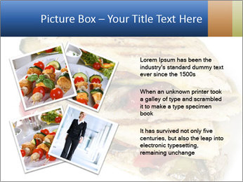 Healthy vegetable panini or focaccia PowerPoint Templates - Slide 23