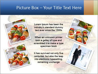 Healthy vegetable panini or focaccia PowerPoint Templates - Slide 24