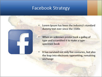 Healthy vegetable panini or focaccia PowerPoint Templates - Slide 6