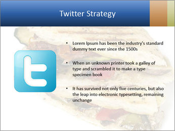 Healthy vegetable panini or focaccia PowerPoint Templates - Slide 9