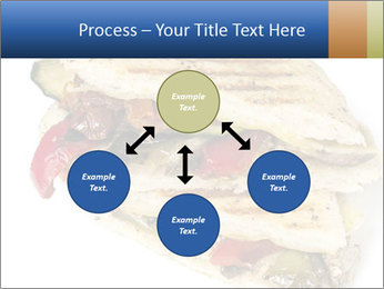 Healthy vegetable panini or focaccia PowerPoint Templates - Slide 91