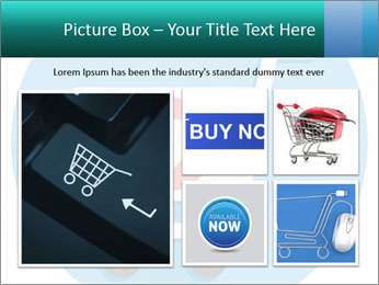 Shopping Cart and Heart Shape Sign Icon PowerPoint Templates - Slide 19