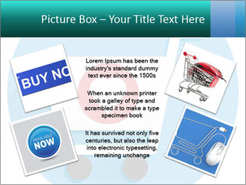 Shopping Cart and Heart Shape Sign Icon PowerPoint Templates - Slide 24