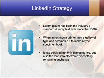 An image of some nice copper pipes PowerPoint Templates - Slide 12