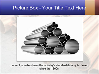 An image of some nice copper pipes PowerPoint Template - Slide 15