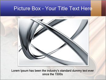 An image of some nice copper pipes PowerPoint Template - Slide 16