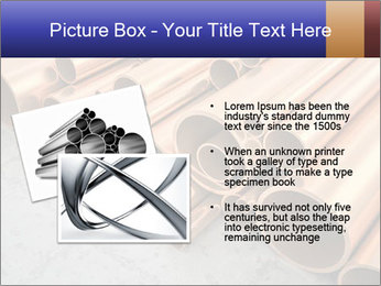 An image of some nice copper pipes PowerPoint Templates - Slide 20