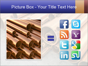 An image of some nice copper pipes PowerPoint Templates - Slide 21