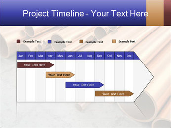 An image of some nice copper pipes PowerPoint Templates - Slide 25