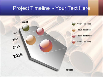 An image of some nice copper pipes PowerPoint Template - Slide 26