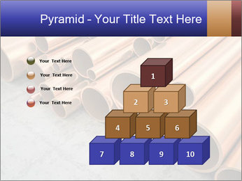 An image of some nice copper pipes PowerPoint Template - Slide 31